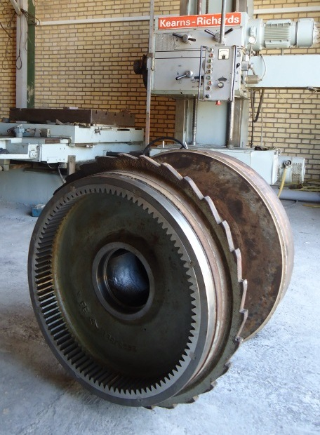 Overhaul of gearboxes - Persian Shell company