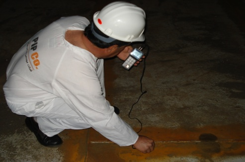 Technical inspection and thickness measurement  of the gas treatment unit project -  Razi Petrochemical Complex