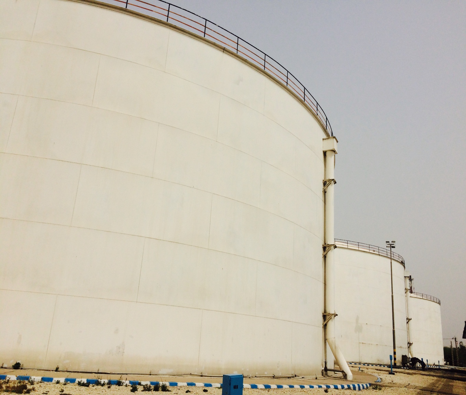 Overhaul and painting of  raw water tank - Fajr Petrochemical Complex