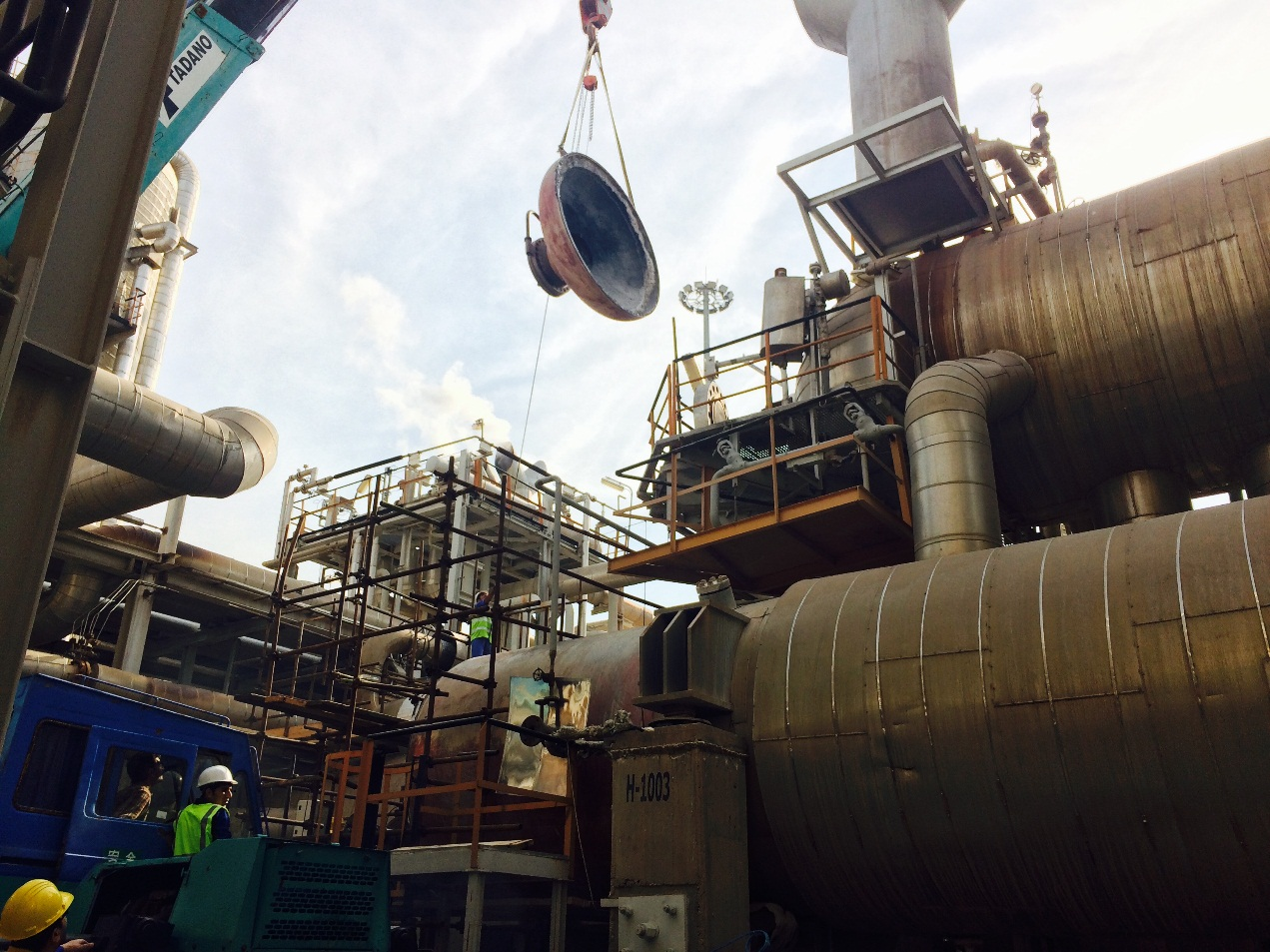 Zagros Petrochemical Complex Overhaul Project