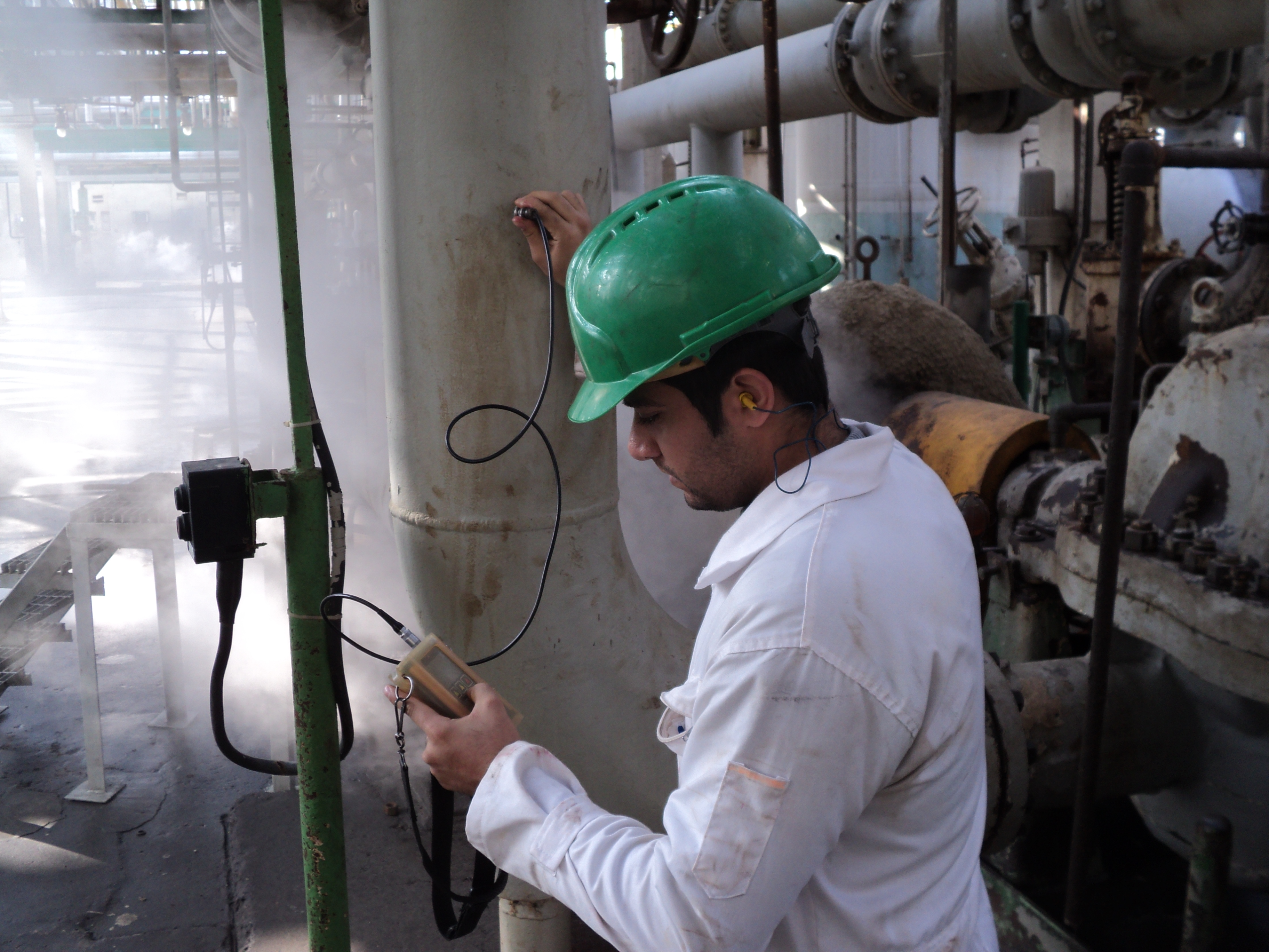 Technical inspection and thickness measurement of Razi Petrochemical Complex , Ammonia Unit